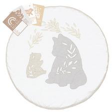 Lolli Living 9 Piece Bosco Bear Play Mat & Milestone Card Set