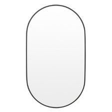 Halo Oval Aluminium Wall Mirror