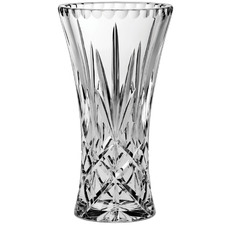Sheffield 25.5cm Crystal Waisted Vase