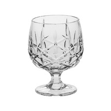 6 Piece Sheffield 250ml Crystal Brandy Glasses (Set of 6)