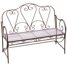 Willy Metal Garden Bench