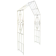 Pointed Metal Garden Arch