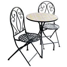 2 Seater Mosaic Sicily Outdoor Bistro Set