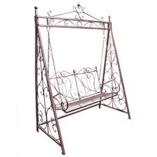 Eveline 2 Seater Metal Garden Swing