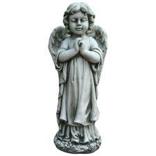 Praying Winged Angel Statue