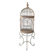 Antique Bronze Bird Cage
