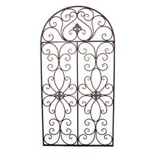 Window Metal Garden Wall Decor