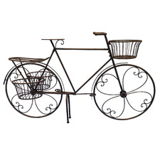 Bicycle Steel Planter Stand