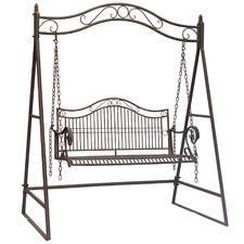2 Seater Latina Steel Garden Swing