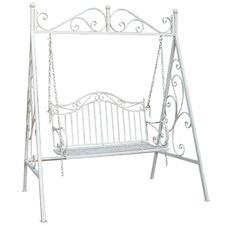 2 Seater Modena Steel Garden Swing