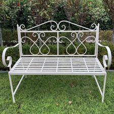 Zara Metal Garden Bench