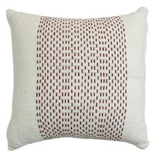 Spindrift Hem Stitch Cotton Cushion