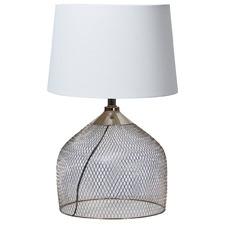 Earl Mesh Metal Table Lamp