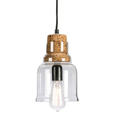 Frankland 24cm Glass Pendant Light