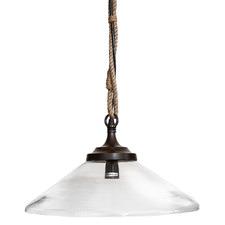 Olivier Conical Glass Pendant Light