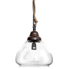 Olivier Dome Glass Pendant Light