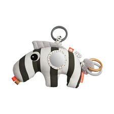 White & Black Zebee Zebra Activity Play Mat Toy