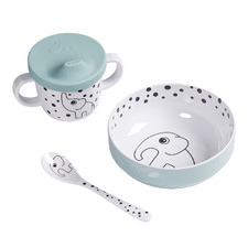 Done by Deer 3 Piece Happy Dots First Meal Set