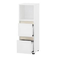 Harper 2 Drawer Bathroom Cabinet
