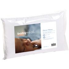White Lucia Cotton Toddler Pillow