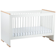 Babyrest White Poppy Cot