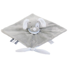 Grey Doudou Toby The Dog Baby Comforter
