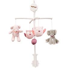 Pink Adele & Valentine Cot Mobile
