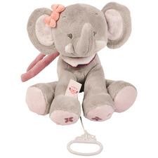 Grey Adele The Elephant Musical Toy