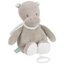Grey Hippolyte The Hippo Musical Toy