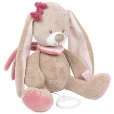 Brown Nina The Rabbit Musical Toy