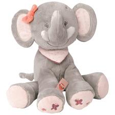 Grey Cuddly Adele The Elephant Plush Toy