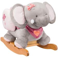 Kids' Pink Adele The Elephant Rocking Toy