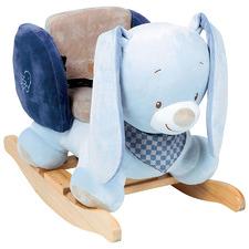 Kids' Blue Bibou The Rabbit Rocking Toy