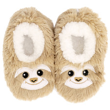 Brown Sloth Furry Foot Pals Babies' Slumbies