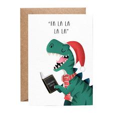 Fa La La La La Greeting Cards (Set of 10)