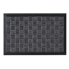 Charcoal Bantry Rubber Doormat