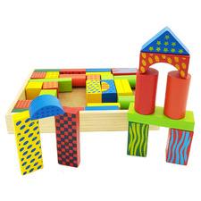 Kids' Wooden Building Blocks