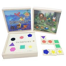 Shape, Jungle & Sea Life Domino Set