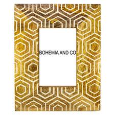Honeycomb Wooden Photo Frame