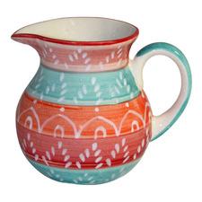 Multi-Coloured 300ml Ceramic Jug