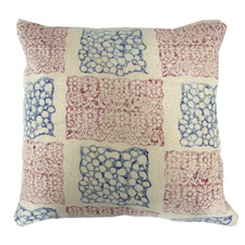 Patch Kilim Woven Cotton Cushion