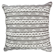Mavie Woven Cotton Cushion
