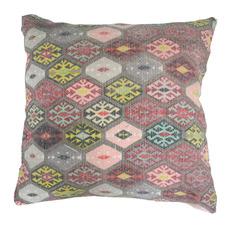 Diamond Kilim Cotton Cushion