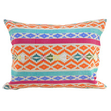 Multi-Coloured Aztex Cotton Cushion