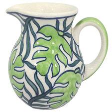 Palm 500ml Ceramic Milk Jug