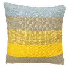 Bosly Striped Cotton Kilim Cushion