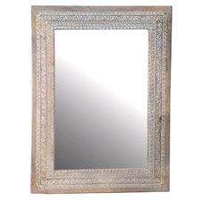 Denny Mango Wood Bindi Mirror
