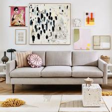 Sierra 3 Seater Upholstered Sofa