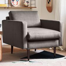 Lanaya Velvet Armchair