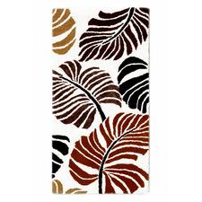 Ivory & Terracotta Halb Botanical Wool-Blend Rug